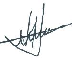 Stolarek Wojciech - Podpis